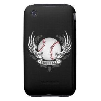 Baseball Wings Tough iPhone 3 Cover