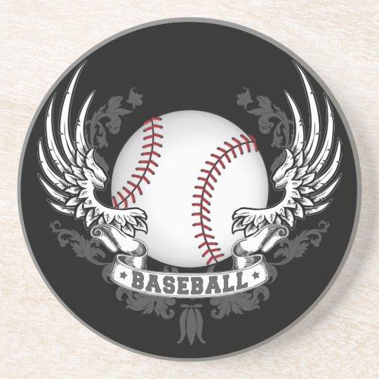 Baseball Wings Coaster