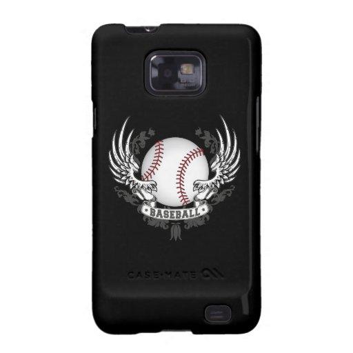 Baseball Wings Galaxy S2 Covers