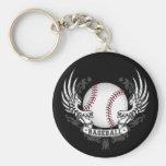 Baseball Wings Keychain