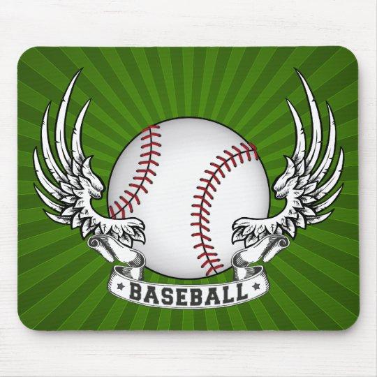 Baseball Wings Mousepad