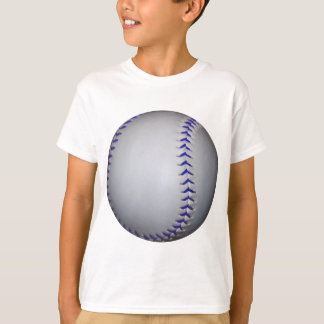 Baseball With Blue Stitches T-Shirt