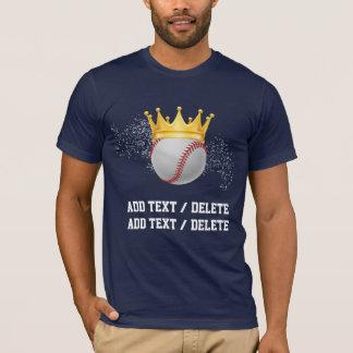 Baseball With Crown T-Shirt