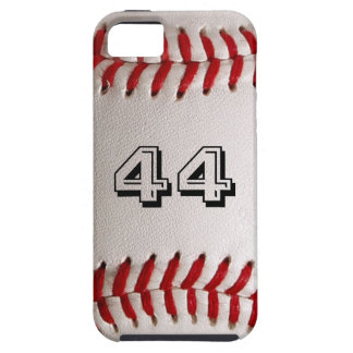 Baseball with customizable number iPhone SE/5/5s case