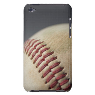 Baseball with impact mark. iPod Case-Mate case