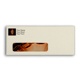 Baseball with lion and light effects envelope