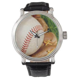 Baseball with Mitt Watch