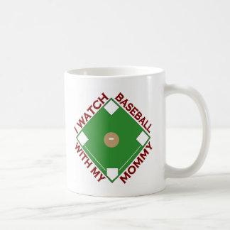 Baseball with Mommy Coffee Mug