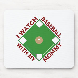 Baseball with Mommy Mouse Pad