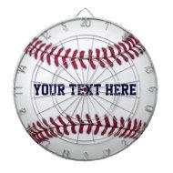 Baseball With Red Stitching Dartboards