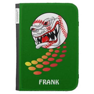 Baseball with Teeth - Customizable! Kindle Cases