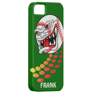 Baseball with Teeth - Customizable! iPhone SE/5/5s Case