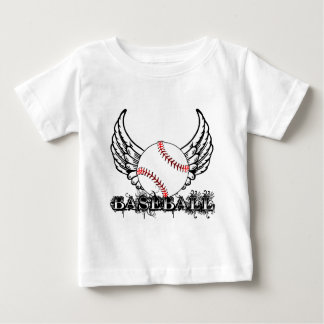 Baseball with Wings Baby T-Shirt