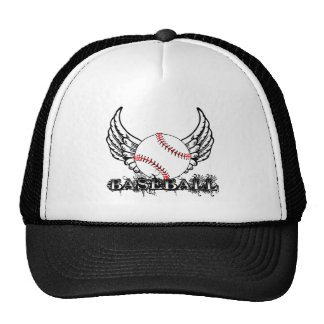Baseball with Wings Trucker Hat