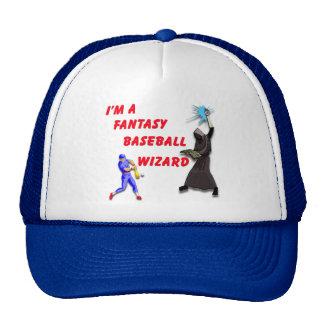 Baseball Wizard #1 Trucker Hat