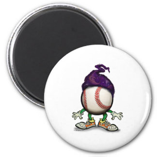 Baseball Wizard Magnet