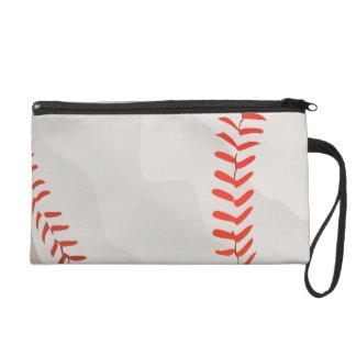 Baseball Wristlet Purse