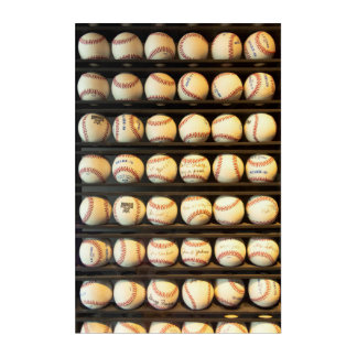 Baseball - You have got some balls there Acrylic Wall Art