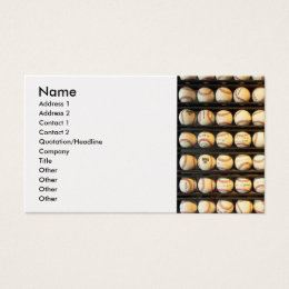 Baseball - You have got some balls there Business Card