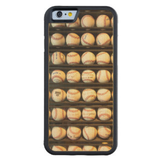 Baseball - You have got some balls there Carved Maple iPhone 6 Bumper Case