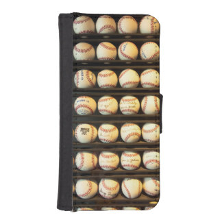 Baseball - You have got some balls there Wallet Phone Case For iPhone SE/5/5s