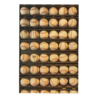 Baseball - You have got some balls there Wood Wall Decor
