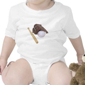 BaseballAndGlove062509 Baby Bodysuit