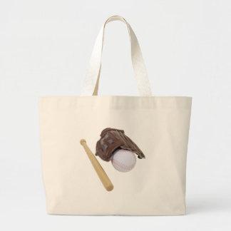 BaseballAndGlove062509 Canvas Bag
