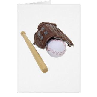 BaseballAndGlove062509 Greeting Card