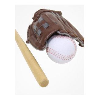 BaseballAndGlove062509 Letterhead Template
