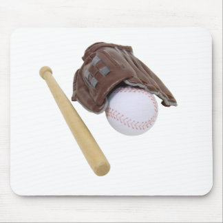 BaseballAndGlove062509 Mouse Pad