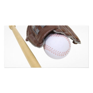 BaseballAndGlove062509 Photo Card