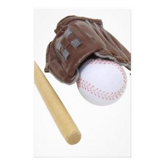 BaseballAndGlove062509 Stationery Design