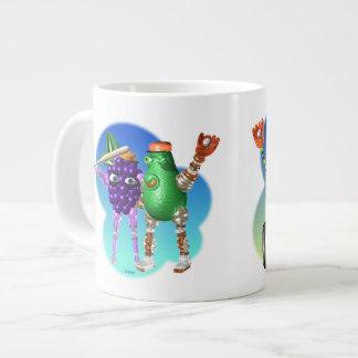 BaseballBots-BerryBot AvocadoBot SoyBot PepperBot Large Coffee Mug