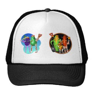 BaseballBots Cornbot  AcornBot Hats