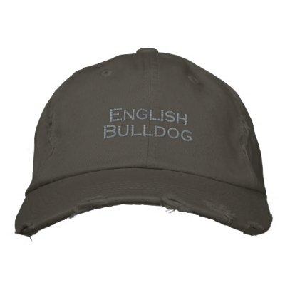 Baseballcap English Bulldog