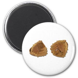 BaseballGloves040311 2 Inch Round Magnet