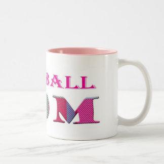 BaseballMom Two-Tone Coffee Mug