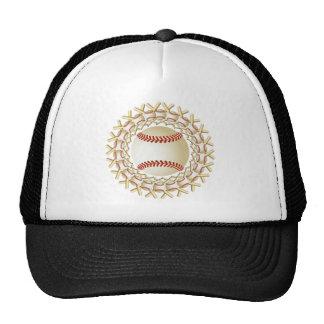 BASEBALLS AND BATS TRUCKER HAT