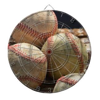 Baseballs And Glove Dart Board