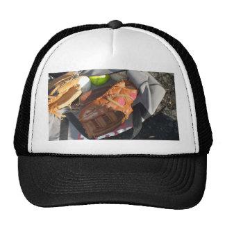 Baseballs and Mitt Trucker Hat