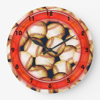 BASEBALLS Clock