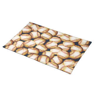 BASEBALLS CLOTH PLACEMAT