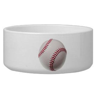 Baseballs - Customize Baseball Background Template Bowl