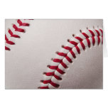 Baseballs - Customize Baseball Background Template Greeting Card