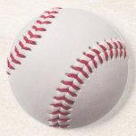 Baseballs - Customize Baseball Background Template Beverage Coaster