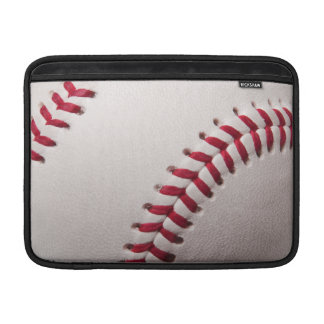 Baseballs - Customize Baseball Background Template Sleeve For MacBook Air