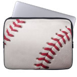 Baseballs - Customize Baseball Background Template Computer Sleeves