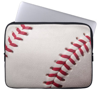 Baseballs - Customize Baseball Background Template Laptop Sleeve