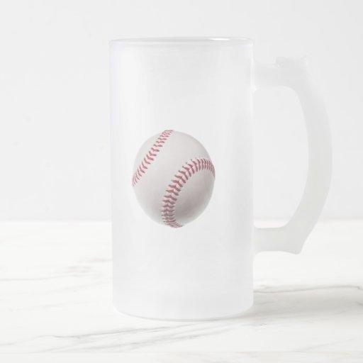 Baseballs - Customize Baseball Background Template Mug